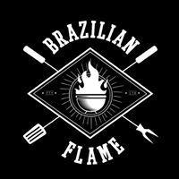 Brazilian Flame Logo